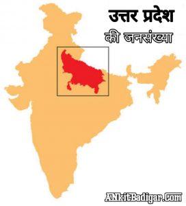 UP Uttar Pradesh Ki Jansankhya