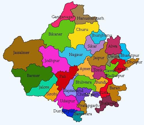 Rajasthan Ki Jansankhya kitni hai